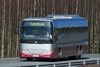 Photo: ERF-425 på E12 mellom Helsinki/Helsingfors og Tampere/Tammerfors, 23.04.2008. O. Mäntylä Oy.