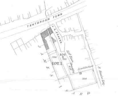 The Pebbles Plan of Properties, Tenterden