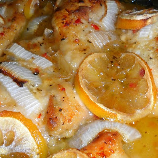 Baked Fish with Meyer Lemons Recipe