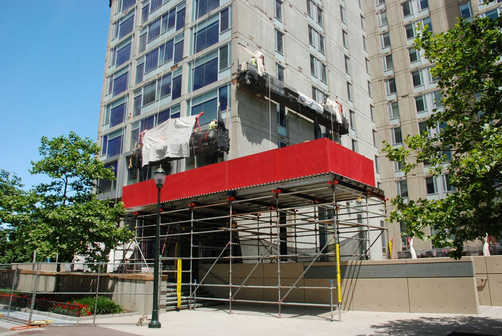suspended scaffold, scaffolding, mast climber, canopy, swing stage, superior, philadelphia, pa, new jersey, NJ, DE, MD, masonry, painter, repair, access, construction