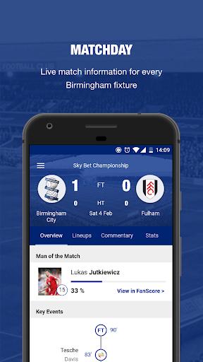 Birmingham City FC screenshots 1