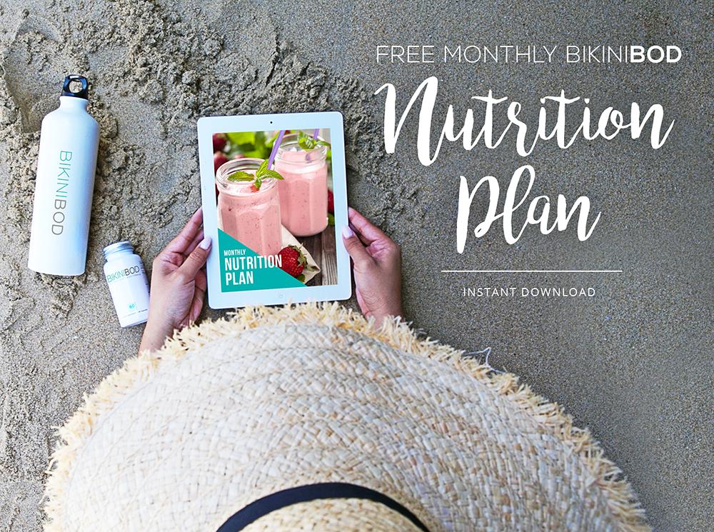 bikinibod free nutrition plan