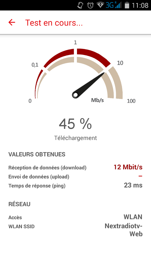 01net.com SpeedTest- screenshot