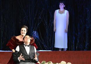 Photo: RUSALKA an der Wiener Staatsoper: Inszenierung Sven Eric Bechtolf. Premiere 26.1.2014. Monika Bohinec, Michael Schade, Krassimira Stoyanova. Foto: Barbara Zeininger