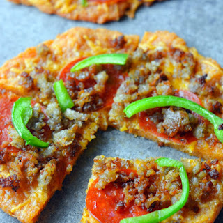 Better Than Fat Head Pizza – Low Carb Pizza Crust.