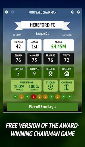 Football Chairman - Build a Soccer Empire 1.5.2 screenshots 11