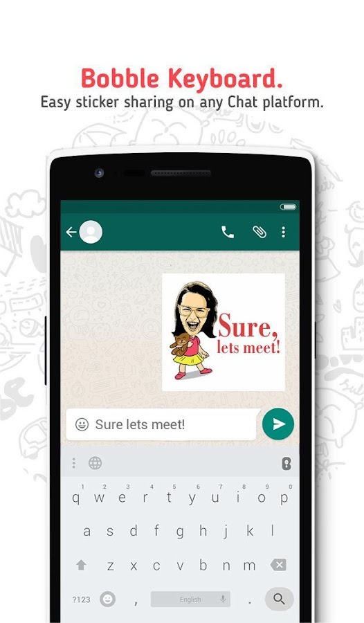 bobble stickers play store