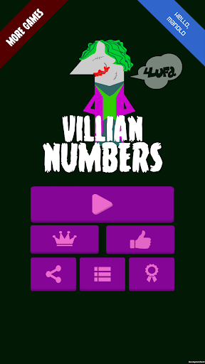 Villain Numbers