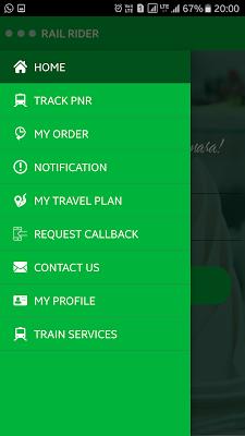 Rail Rider - The Travel Eatery - screenshot