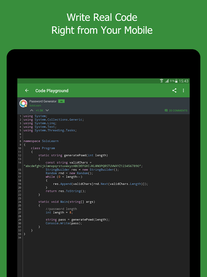 SoloLearn: Learn to Code for Free- screenshot