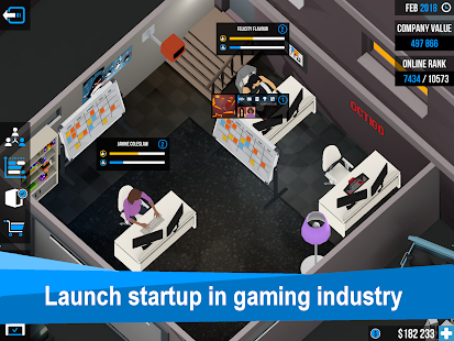 Business Inc. 3D: Realistic Startup Simulator Game Capture d'écran