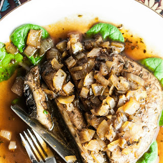 Portobello Mushroom Steaks Recipe