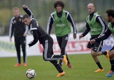 """Eden Hazard: """" C'est un bon point à l'extérieur """""""