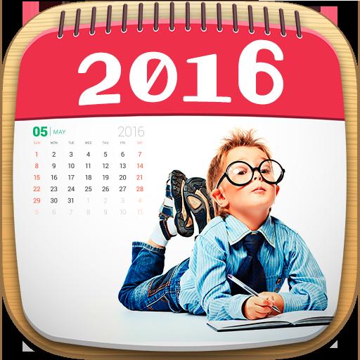 摄影のカレンダー2016フォトフレーム LOGO-記事Game