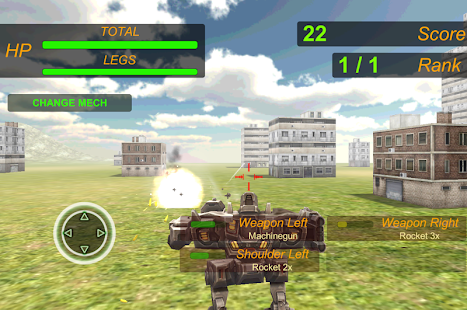 Extreme Battle Mech War- screenshot thumbnail
