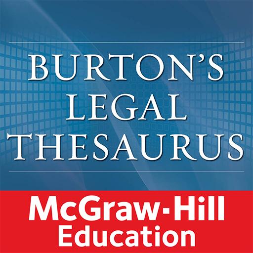 Burton's Legal Thesaurus Icon