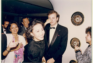 Photo: Nil By Nose - well, that was the 80's for ya... an that's Victor Ozeri, Teresa Oram, Philip Chan and Lancy Nelsson!