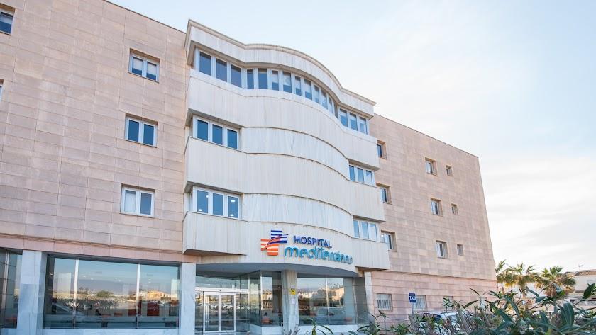 Fachada del hospital HLA Mediterráneo.