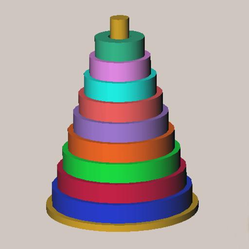 Hanoi Towers 3D