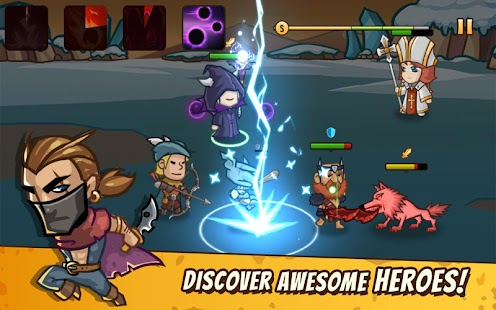 Pocket Heroes Screenshot