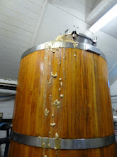 Photo: Very active fermenter at St. Peter's.