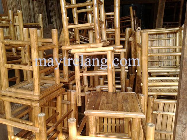 Bàn ghế tre, bàn ghế tre ép, bàn ghế tre giá rẻ