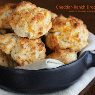 Cheddar Ranch Drop Biscuits.