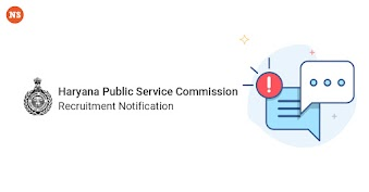 Haryana Public Service Commission Recruitment Notification
