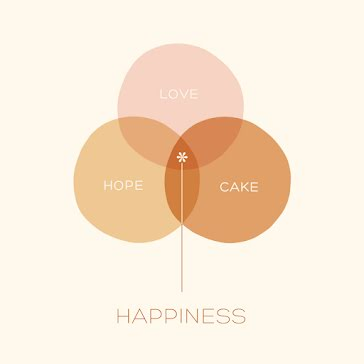 Love Hope Cake - Instagram Post template