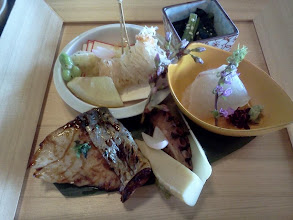 Photo: 東京。雅なランチをごちそうになる、の巻。鰆?すごく美味しかった。