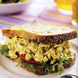 Curried Chicken Salad Sandwich.