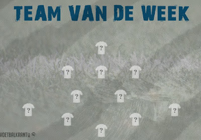 Dit is ons Team van de Week in 1B!