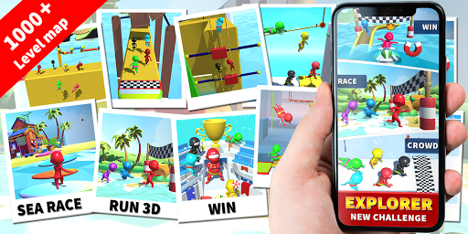 Sea Race 3D - Fun Sports Game Run 3D  screenshots 8