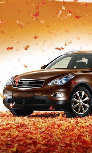 Wallpaper with Infiniti FX35