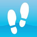 Pedometer - step counter - calorie counter icon