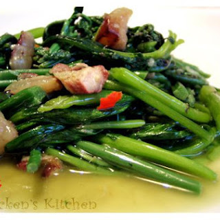 Stir-Fried Fiddleheads