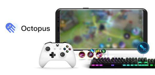 Octopus -  Play games with gamepad,mouse,keyboard APK