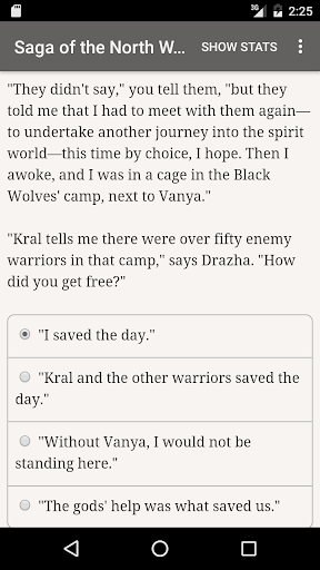 Saga of the North Wind Screenshot