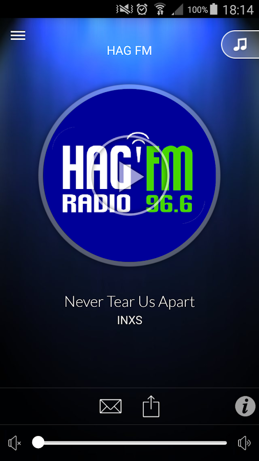 Radio HAG' FM- screenshot