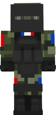 général des soldats français lourd