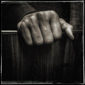 Fist by David Stone - Instagram & Mobile iPhone ( hand, sepia, bw, fist, square image, iphone,  )