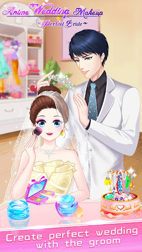 ud83dudc70ud83dudc92Anime Wedding Makeup - Perfect Bride  screenshots 24