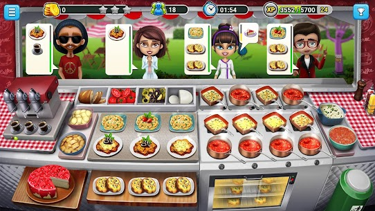 Food Truck Chef™ 🍕Cooking Games 🌮Delicious Diner Mod 1.8.0 Apk [Unlimited Gold] 2