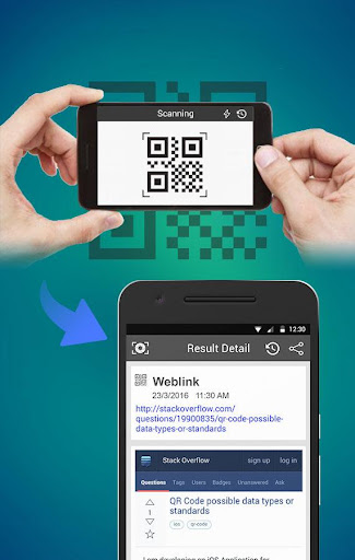 QR code barcode scanner for PC