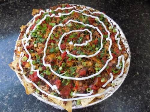 "Dinner Nachos ""A gaggle of teens come over at the last minute?..."