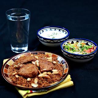 Saudi Spiced Rice Pilaf (Kbseh)