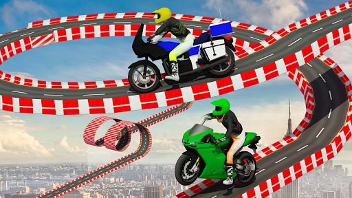 Stunt Bike Impossible Tracks-Race Moto Drive Game image