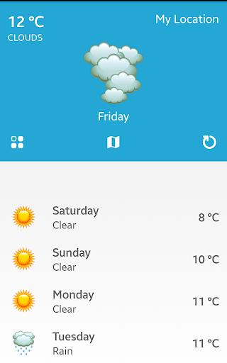 天氣 - 快速和容易