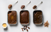 From left: sticky toffee puddings from Checkers, Woolworths and Pick n Pay.