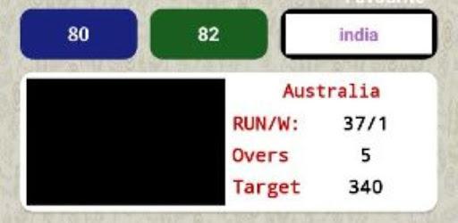Cricket Line Prediction for PC